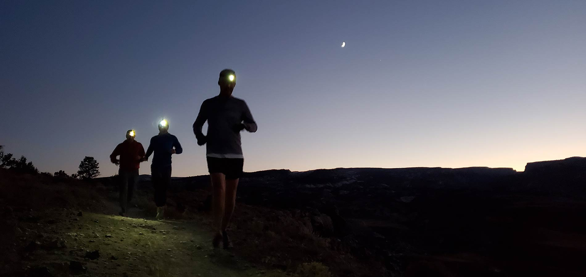Evening running with Striders in Grand Junction, Colorado